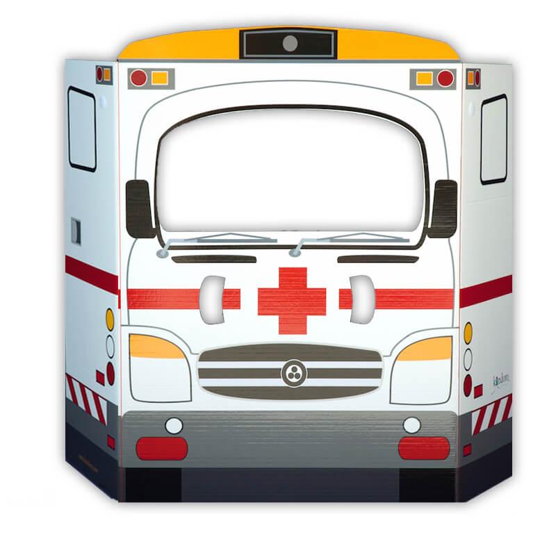 Casas de cartón Kandoro - ambulancia