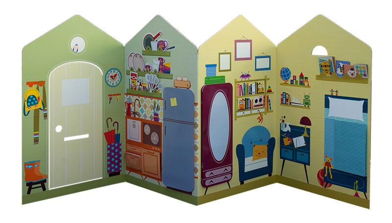 Casas de cartón Kandoro - La casa