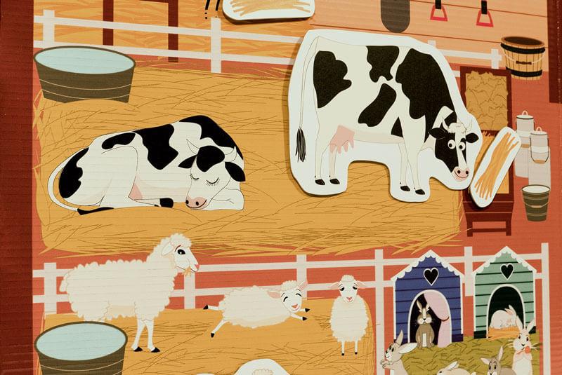 juego educativo de la granja de kandoro